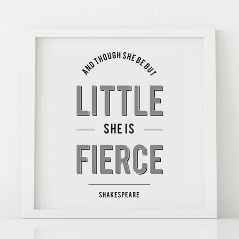 And though she be but little' Print_Leonora Hammond_OOSTOR.com