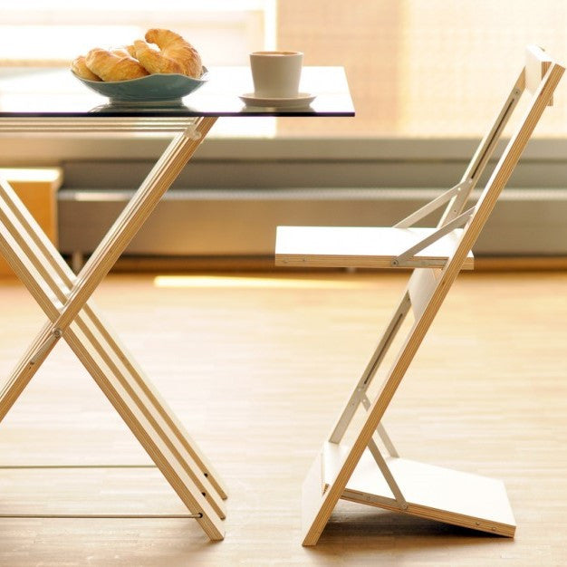 Folding Chair Fläpps – Knife Flowers by Ambivalenz on OOSTOR.com