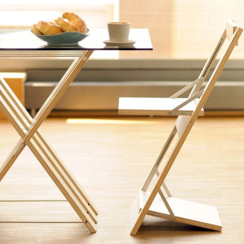 Fläpps Folding Chair – Birch clear by Ambivalenz on OOSTOR.com