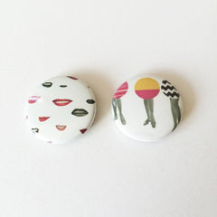 Badge Set - Flirty by Cassia Beck on OOSTOR.com