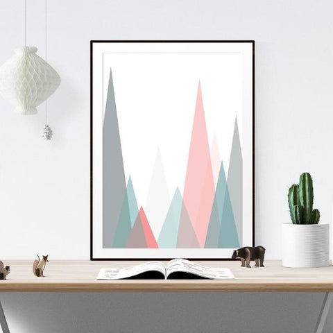 The Mountains Inspirational Prints by The Native State