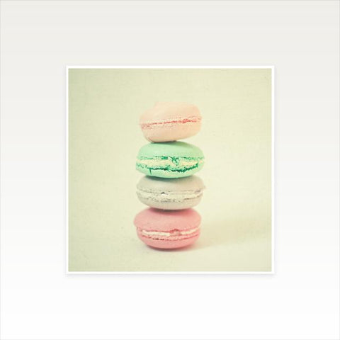 Four Macarons Kids Art Print by Cassia Beck on OOSTOR.com