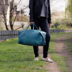 Archie's Duffle - Signature Blue by Fox Archer on OOSTOR.com