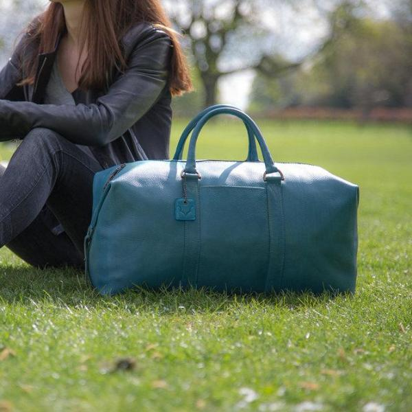 Archie's Duffle - Signature Blue - With Side Pocket by Fox Archer on OOSTOR.com