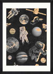 Astronauts Art Print by Pad Home on OOSTOR.com