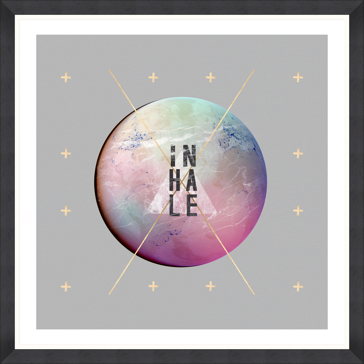 Inhale Art Print by Pad Home on OOSTOR.com