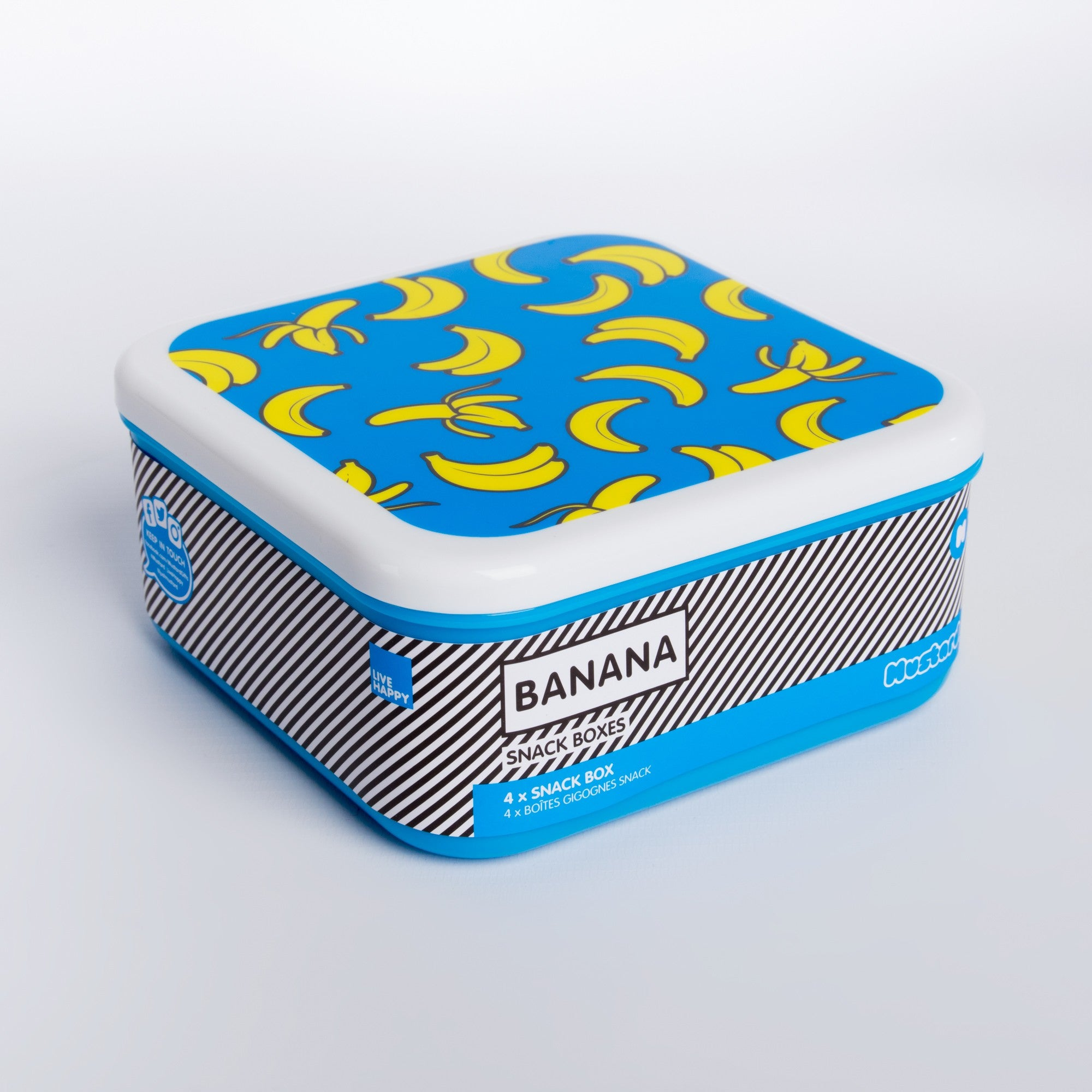 Banana Snack Boxes by Mustard Gifts on OOSTOR.com