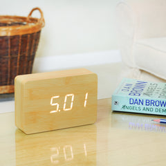 Brick Click Clock by Gingko on OOSTOR.com