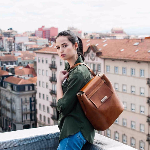Classic Bucket Bag by Maria Maleta on OOSTOR.com