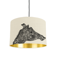 Giraffe Shade, Mirrored Lining