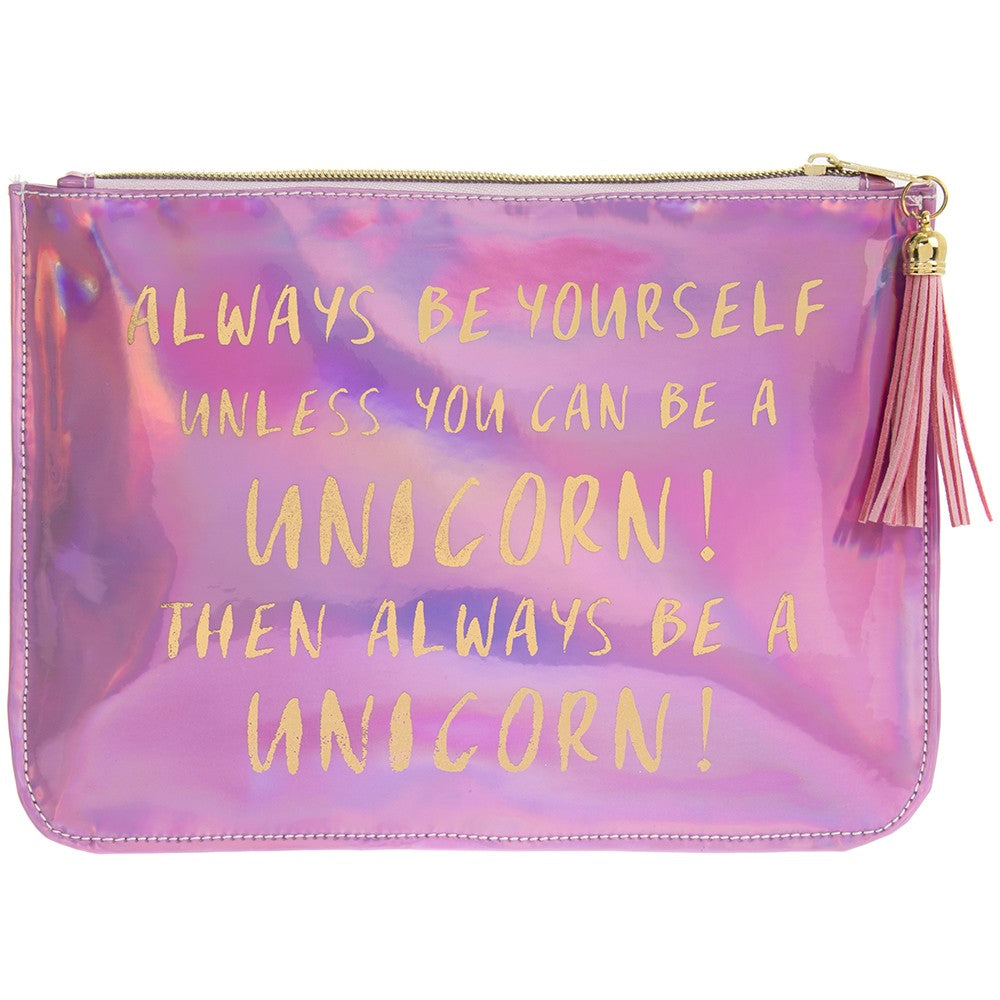 Unicorn Shimmer Pouch by Sole Favors on OOSTOR.com