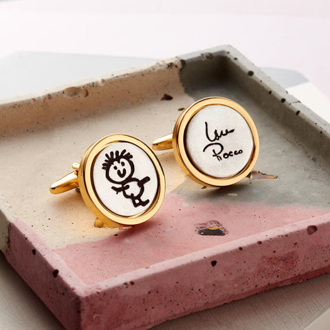 Gold Edition Artwork Cufflinks