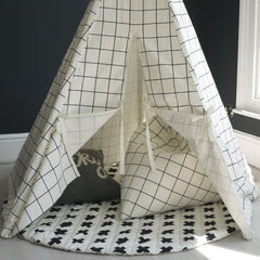 GRID PYRAMID BEAN BAG by Wildfire Teepees