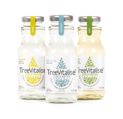 TreeVitalise Organic Birch Water - Mixed Case (5 of each variety - 15 x 250ml)