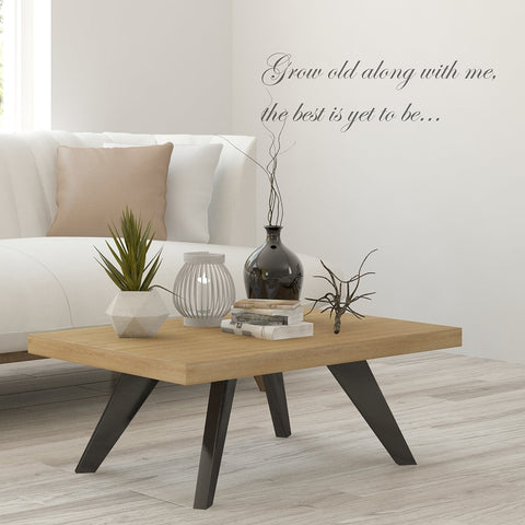Grow Old Along with Me Wall Sticker