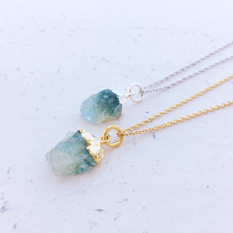 Hera Gemstone Necklace by Eclectic Eccentricity on OOSTOR.com