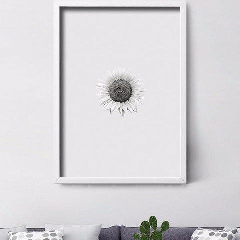 Sun Flower Print by Action Zebra on OOSTOR.com