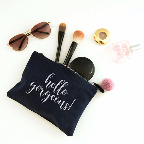 Hello Gorgeous Cosmetic Makeup Bag