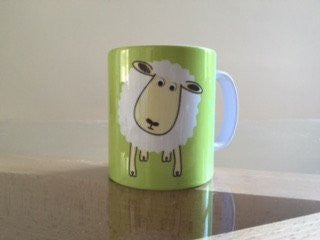 WHAT AM I? FARM ANIMAL MUG WITH RHYME