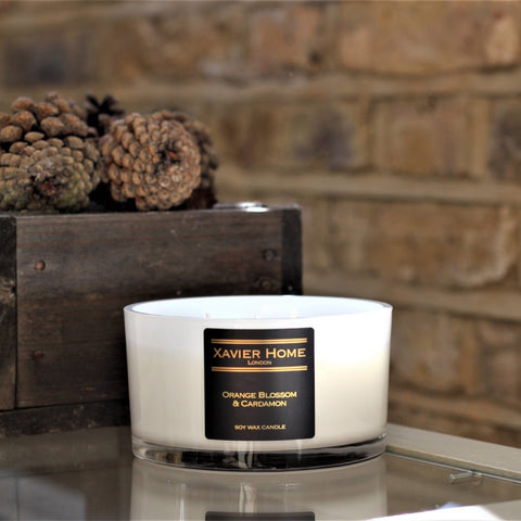 Orange Blossom & Cardamon Soy Wax Candle