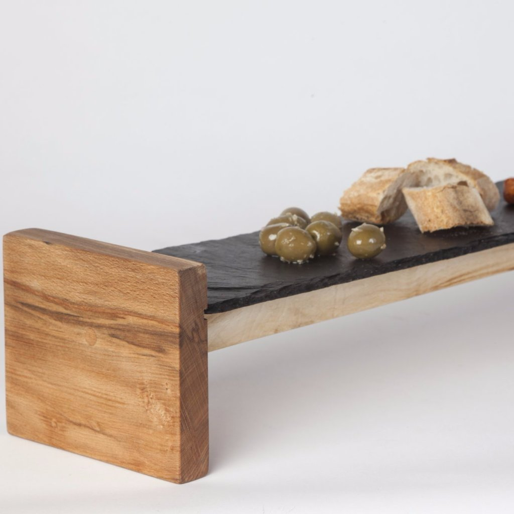 Slate & Wood Large Sharing Platter by Slated on OOSTOR.com