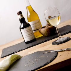 Round Slate Place Mats by Slated on OOSTOR.com