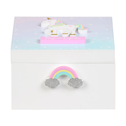 Unicorn 'Magical Keepsakes' Box by Sole Favors on OOSTOR.com