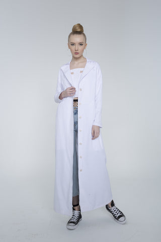 LONG TRENCH COAT by 113 Studio on OOSTOR.com