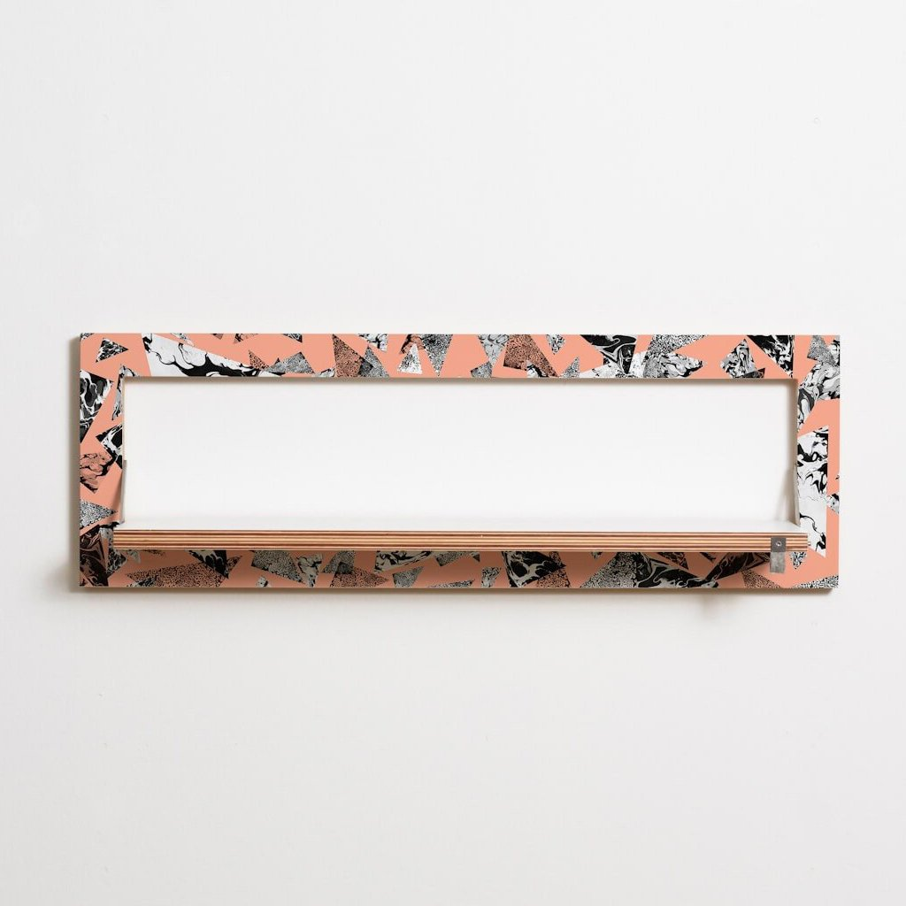 Fläpps Patterned Narrow Shelf by Ambivalenz on OOSTOR.com