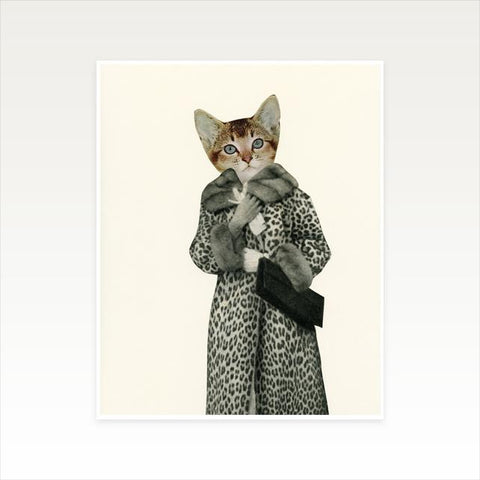 Kitten Dressed as Cat Art Print by Cassia Beck on OOSTOR.com