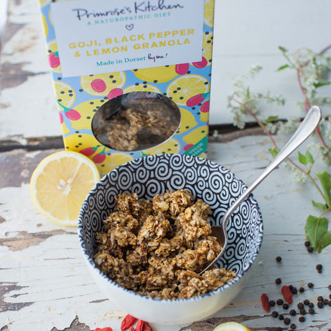 Organic Lemon, Goji & Black Pepper Granola
