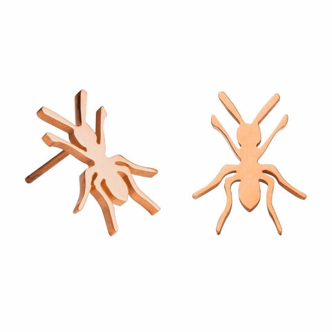Ant Stud Earrings by ESA EVANS on OOSTOR.com