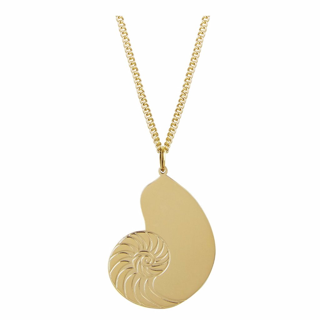 Nautilus Shell Pendant by ESA EVANS on OOSTOR.com