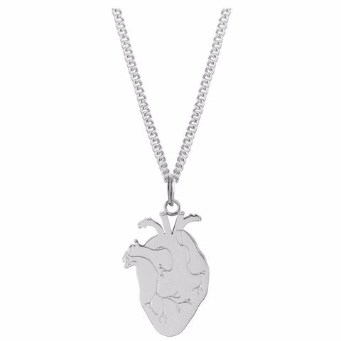 Anatomical Heart Pendant by ESA EVANS on OOSTOR.com