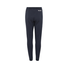 Navy Blue Cotton Cashmere Jogging Trousers by Tress Clothing on OOSTOR.com