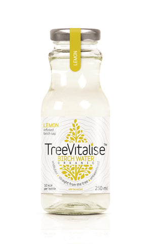 TreeVitalise Organic Birch Water - Lemon (15 x 250ml)