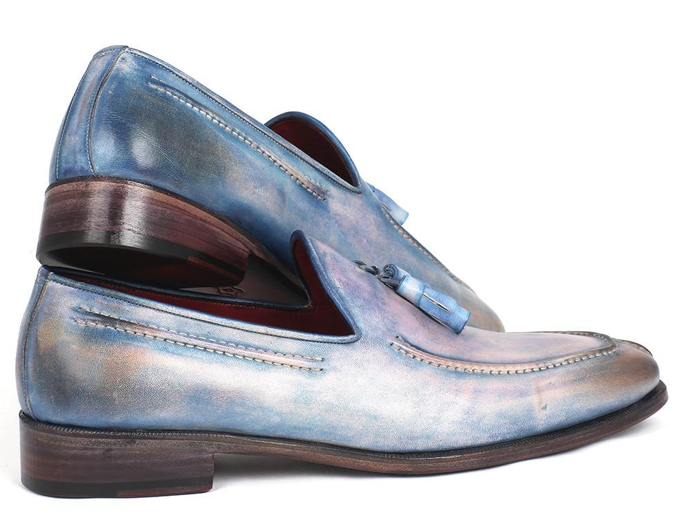 Paul Parkman Tassel Loafers Lila Hand-Painted by PAUL PARKMAN on OOSTOR.com