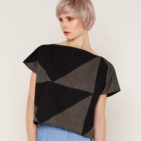 Mercury Top - Black & Grey by Bo Carter on OOSTOR.com