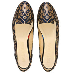 Midnight In Banaras Flat Shoes