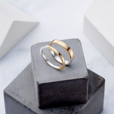 Two Tone Classic Ring