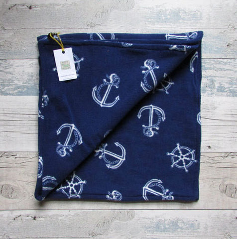 Baby nautical Blanket