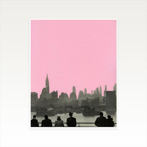 New York Nights Art Print by Cassia Beck on OOSTOR.com