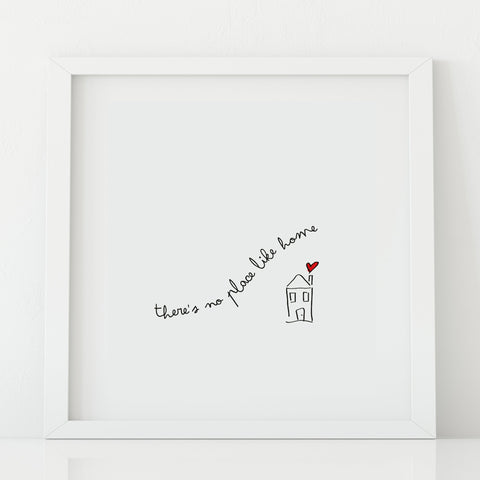 There's no place like home' Print