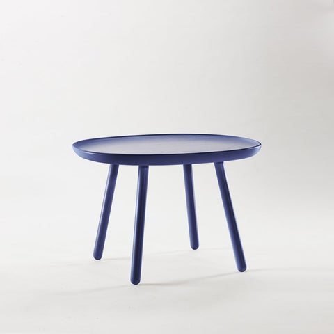 Naïve Coffee & Side Table, Square D640, Blue by EMKO