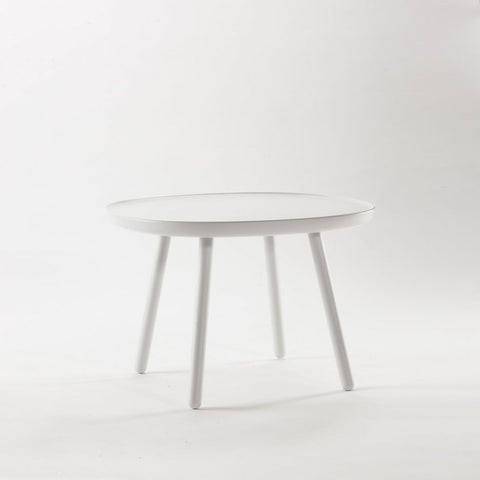 Naïve Coffee & Side Table, Square D640, White by EMKO