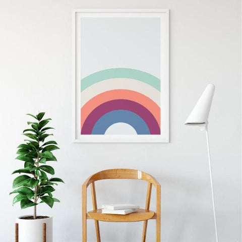 Rainbow Skies Art Print by The Native State