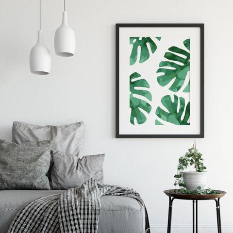 Monstera Print by The Native State