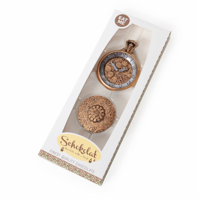 Chocolate Pocket Watch by Bundled Gifts on OOSTOR.com