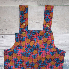 Children's Pineapple Dungarees