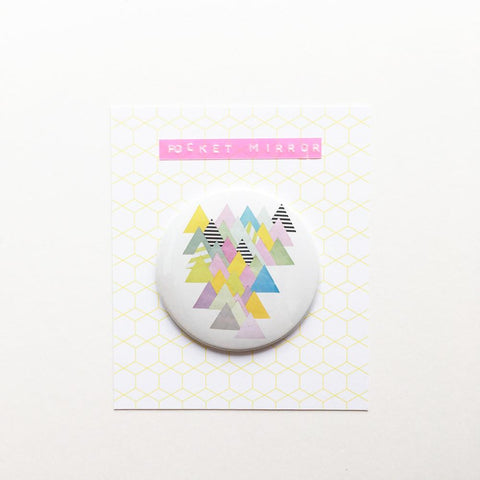 Pocket Mirror - French Alps by Cassia Beck on OOSTOR.com